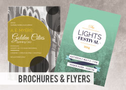 Custom Brochures & Flyers - 8.5x11