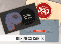 Custom Printed Business Cards from NationWide Disc