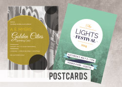 Large Custom Printed Postcards - 11x17