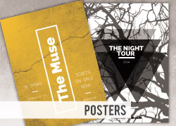 Custom Printed Posters - 8.5x11 from NationWide Disc