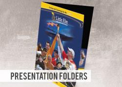 Custom Printed Presentation Folder - 4x9
