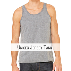J-Next Level NL3633 Unisex Jersey Tank