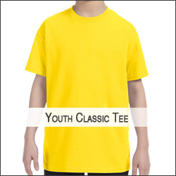 N-Gildan G500B Youth 5.3 oz. T-Shirt