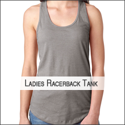 M-Next Level N1533 Ladies' Ideal Racerback Tank
