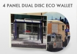 Duplicated DVDs in 4 Panel Dual Disc Eco Wallet